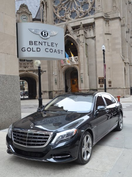 2016 Mercedes-Benz S-Class Mercedes-Maybach S 600
