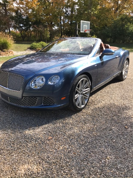 2014 Bentley Continental GTC Speed GT Speed