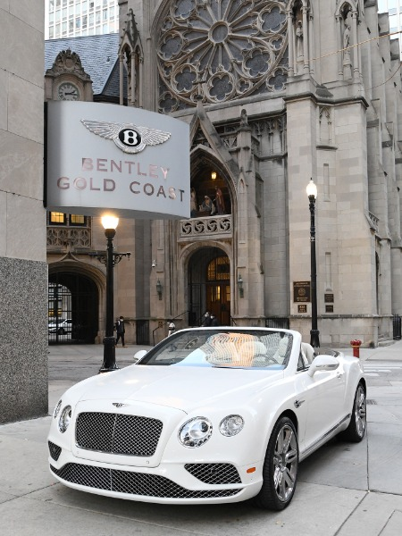 2016 Bentley Continental GT Convertible GT